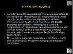ii physiopathologie12