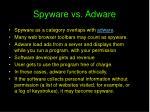 spyware vs adware