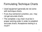 formulating technique charts2