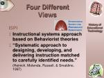 four different views28