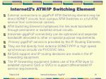 internet2 s atm ip switching element18