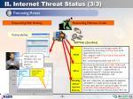 ii internet threat status 3 3