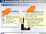 iv responding web hacking incidents