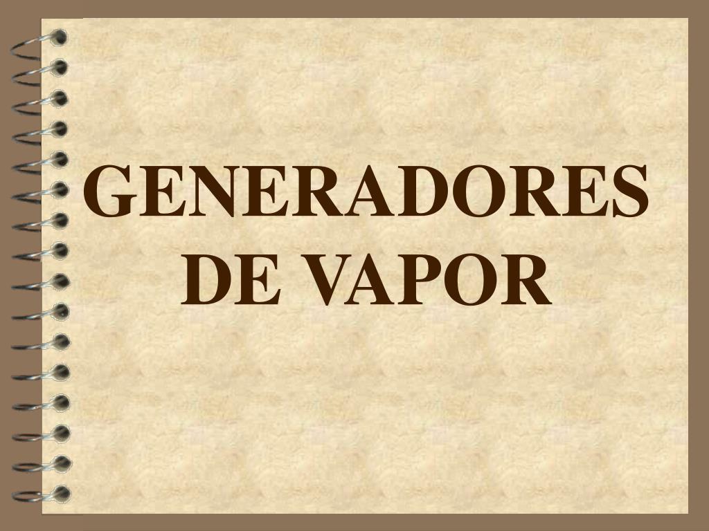generadores de vapor l.