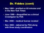 dr fiddes cont20