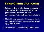 false claims act cont46