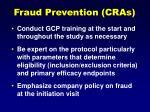 fraud prevention cras54