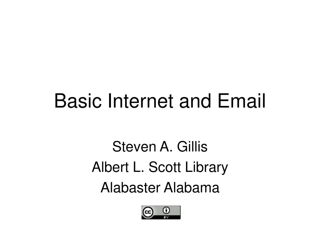 basic internet and email l.