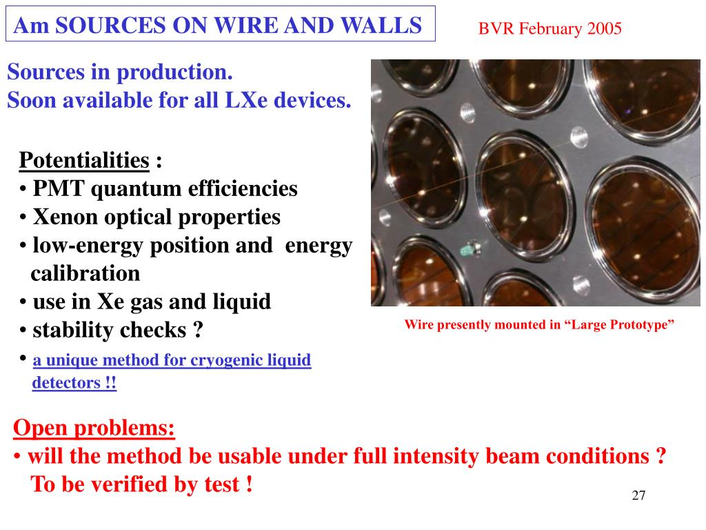 Am SOURCES ON WIRE AND WALLS