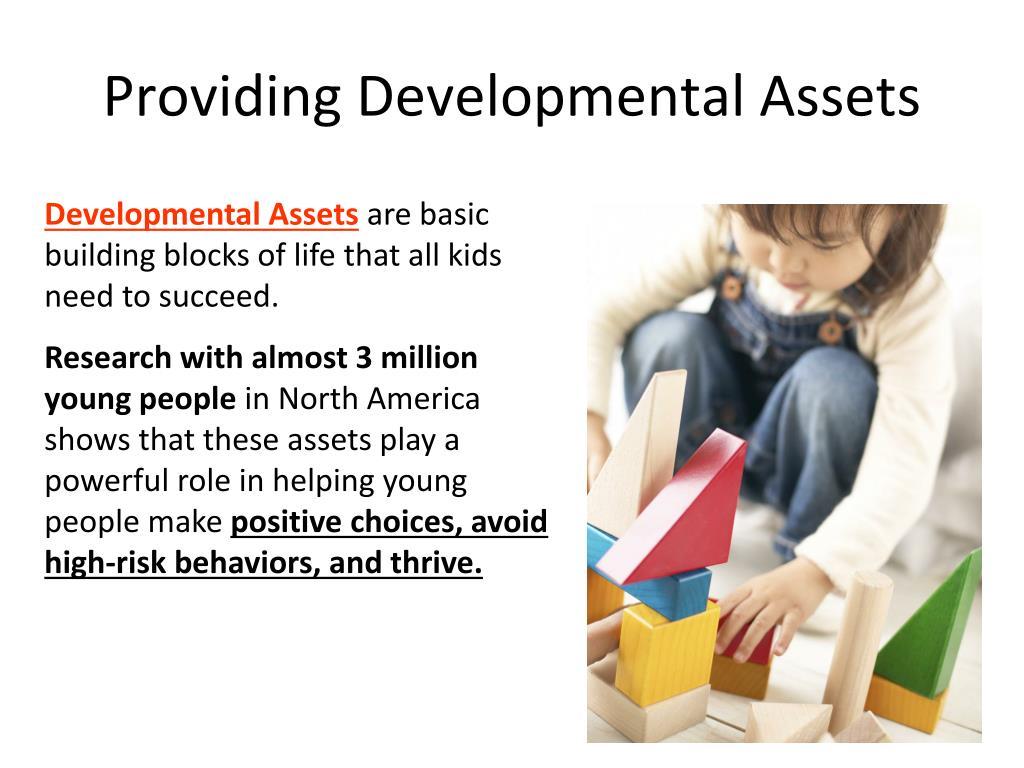 Providing Developmental Assets