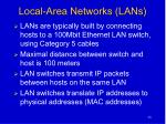 local area networks lans