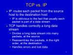 tcp vs ip
