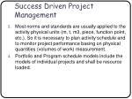 success driven project management63