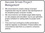 success driven project management64