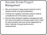success driven project management65