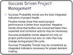 success driven project management66