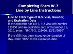 completing form w 7 line by line instructions33