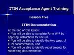 itin acceptance agent training34