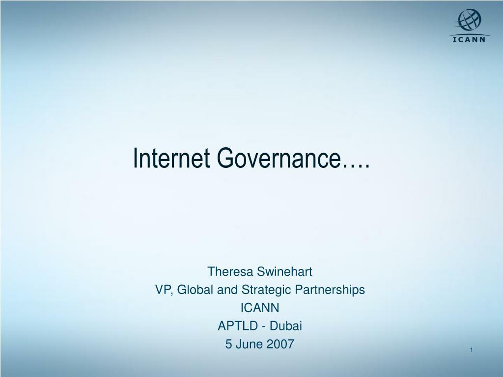 internet governance l.