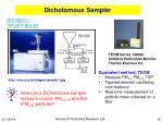 dichotomous sampler