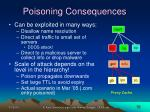 poisoning consequences