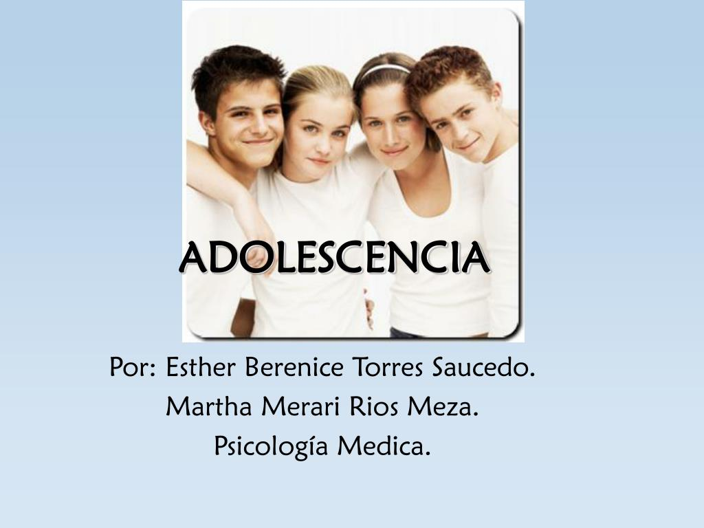 adolescencia l.