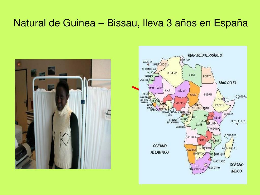 Natural de Guinea – Bissau, lleva 3 años en España