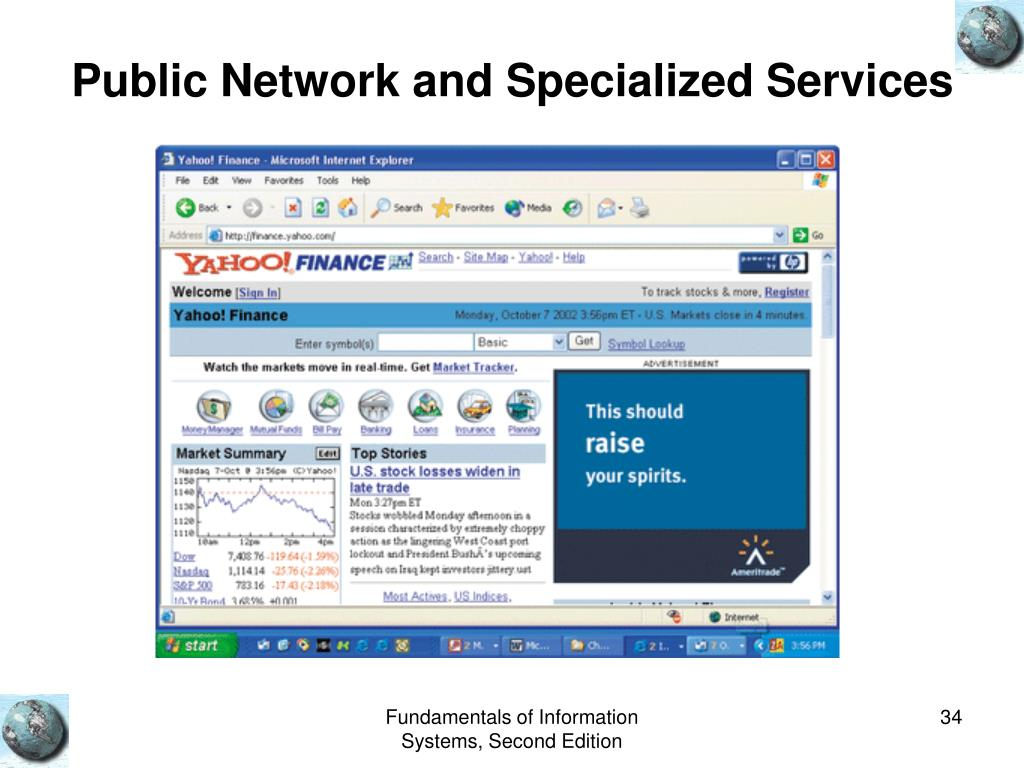 Public Network and Specialized Services