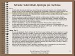 scheda subordinati tipologie pi rischiose