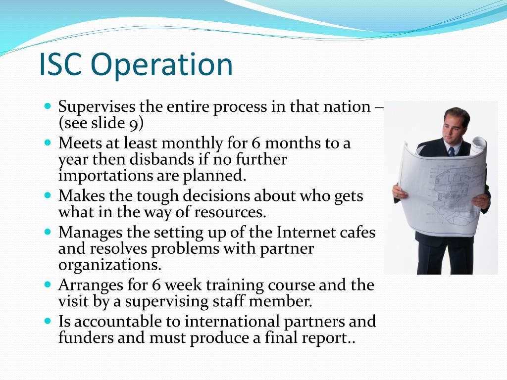 ISC Operation