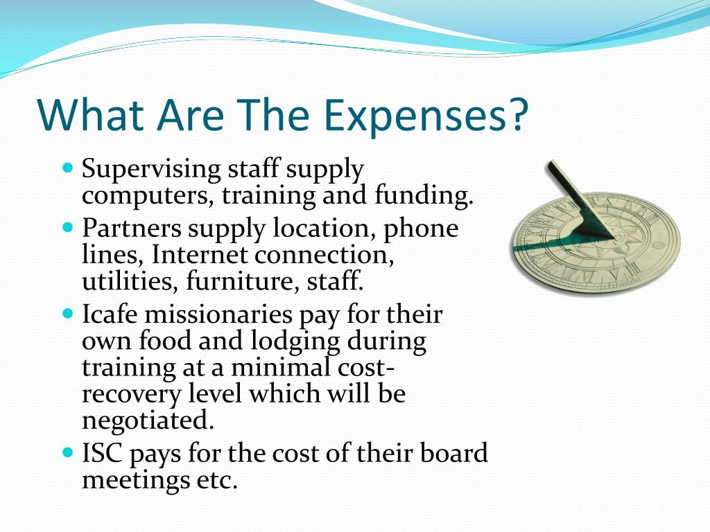 What Are The Expenses?