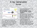 x ray generation review