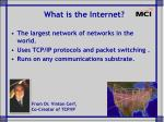 what is the internet7