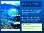 cordect wll
