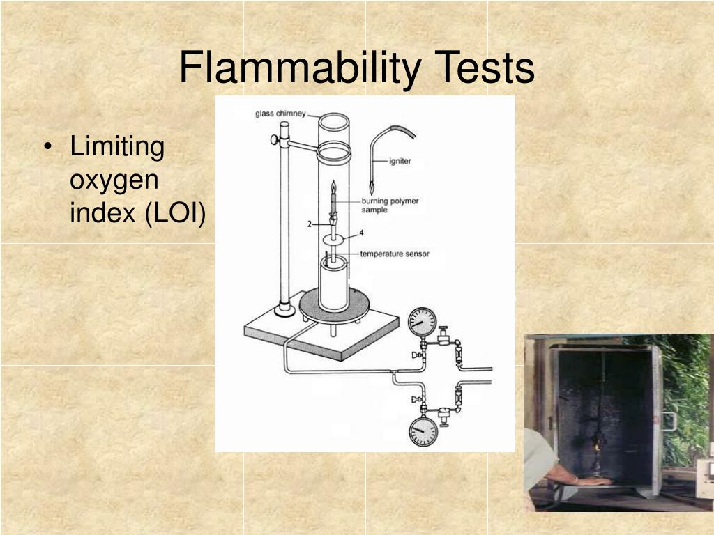 Flammability Tests