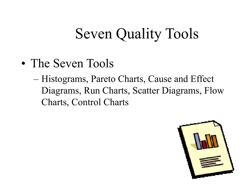 ishikawa basic tools Ishikawa's 7 basic tools of quality is a designation given to a fixed set of graphical techniques identified as being most helpful troubleshooting issues related to quality they are called basic because they are used easily by people with little formal training in statistics.