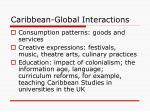 caribbean global interactions