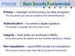 basic security fundamentals