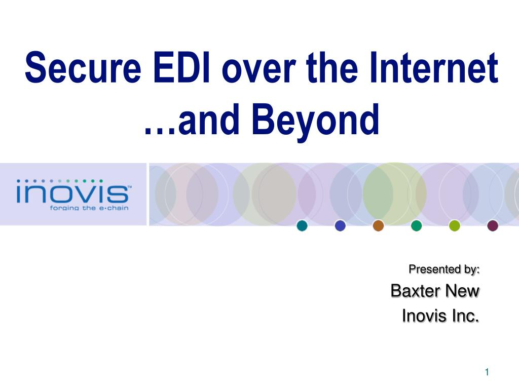 secure edi over the internet and beyond l.