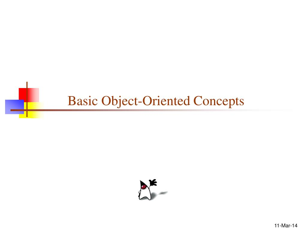 basic object oriented concepts l.