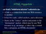 html hyperlink