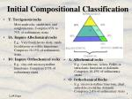initial compositional classification
