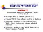 brief smoking cessation interventions in a hospital setting helping patients quit13