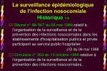 la surveillance pid miologique de l infection nosocomiale historique 1 8