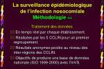 la surveillance pid miologique de l infection nosocomiale m thodologie 4 4