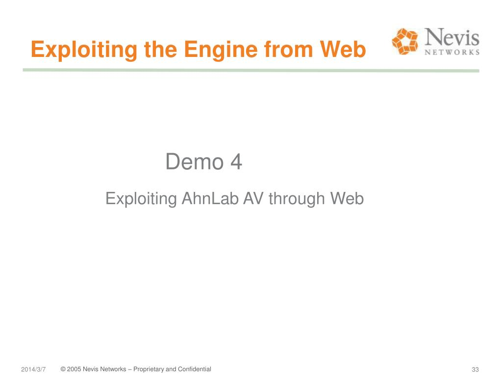 Exploiting the Engine from Web