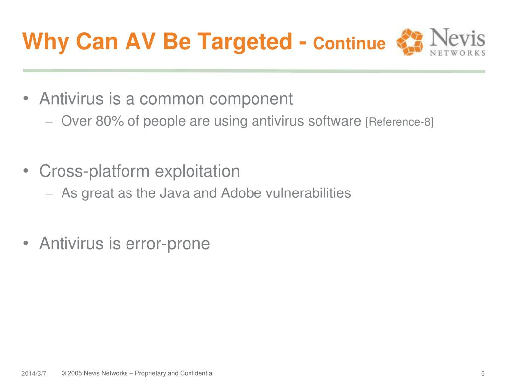 Why Can AV Be Targeted -