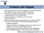 problems with weights1