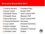 executive board 2010 2012