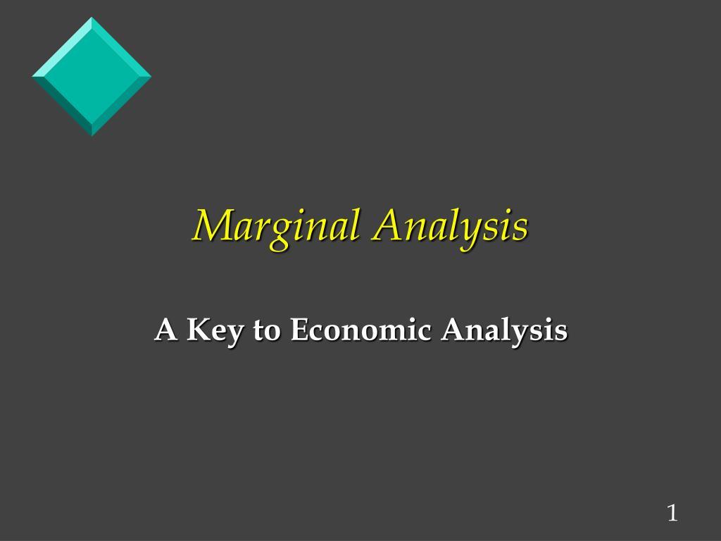 marginal analysis l.